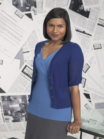 Pictured: Mindy Kaling as Kelly Kapoor -- NBC THE OFFICE -- Photo: Mitchell Haaseth
