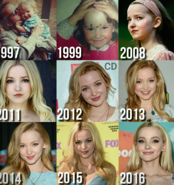 dove cameron no makeup